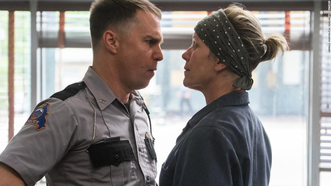 'Three Billboards Outside Ebbing, Missouri' scored four SAG Award nominations on Wednesday, including best ensemble performance in a movie.