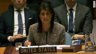 Haley slams UN for treatment of Israel in face of strong criticism