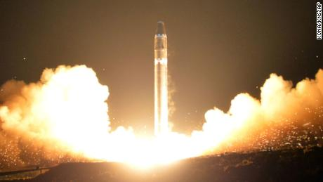 North Korea's new Hwasong-15 missile: What the photos show