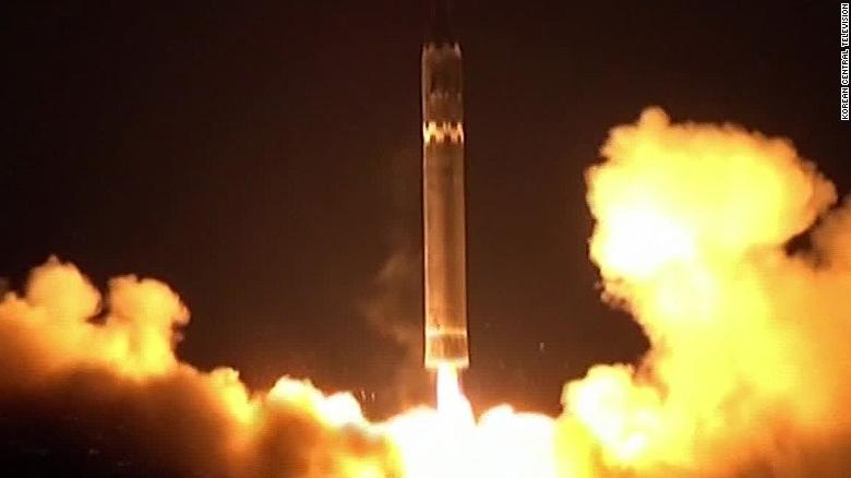 North Korea says new intercontinental ballistic missile capable of re-entering Earth's atmosphere
