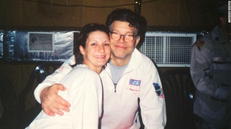 Army vet accuses Franken of groping