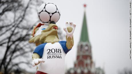 The 2018 FIFA World Cup Draw in Russia