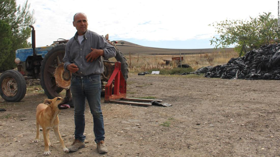 Farmer Enzo Smacchia says he pays his workers a fair wage.