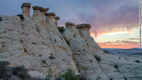 The vast and austere landscape of the Grand Staircase-Escalante National Monument offers a spectacular array of scientific and historic resources. Encompassing 1.9 million acres, the Monument was created in 1996 by presidential proclamation - the first monument entrusted to BLM management.
