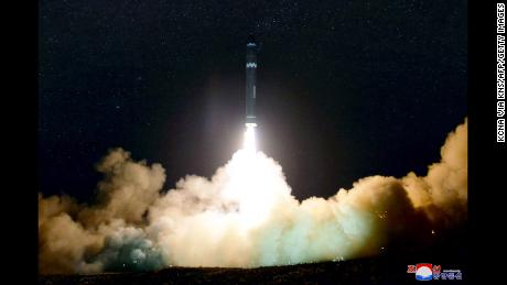 Watch North Korea's huge new missile launch