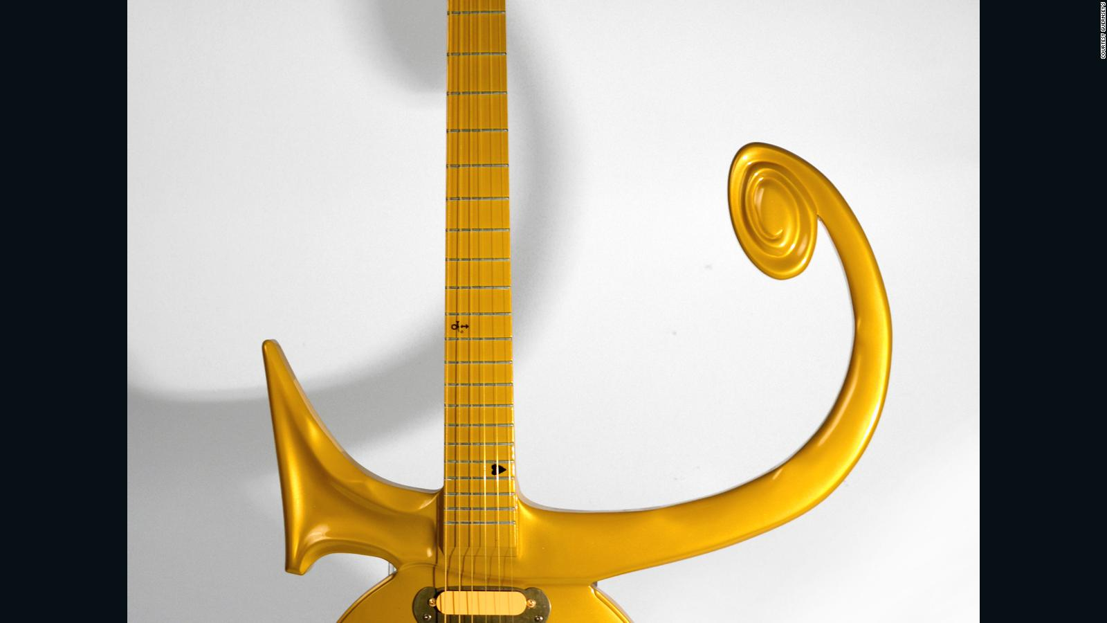 Iconic Prince Love guitar to hit the auction block CNN Style