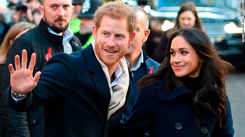 Prince Harry and Meghan Markle's first royal visit