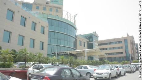 Max Super Specialty Hospital, Shalimar Bagh in New Delhi, India.