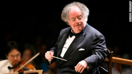 American conductor James Levine has performed with numerous musical organizations worldwide.