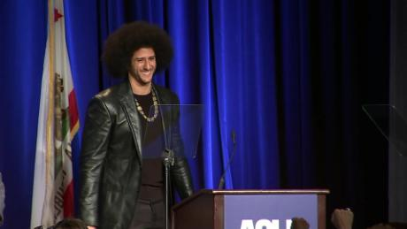 colin kaepernick honored aclu award sot _00000000.jpg