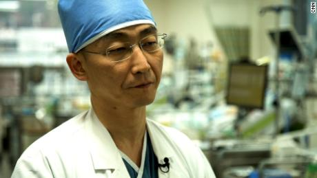 North Korean defector's life-saving surgery