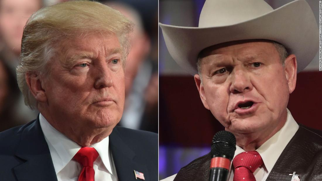 Donald Trump woke up this morning and Alabama is still not his fault
