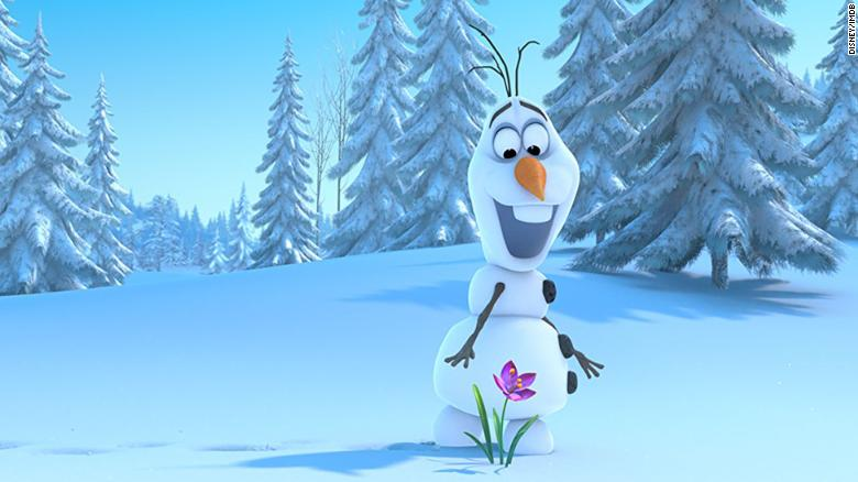 """Olaf from """"Frozen"""" is the subject of a short film fans didn't love. """"Olaf's Frozen Adventure"""" was running before showings of """"Coco"""" and<a data-cke-saved-href=""""http://www.cnn.com/2017/12/04/entertainment/olaf-frozen-short/index.html"""" href=""""http://www.cnn.com/2017/12/04/entertainment/olaf-frozen-short/index.html"""" target=""""_blank""""> there was speculation the run was ended because of audience complaints. </a>""""Frozen"""" was more of a phenomenon. Here's a look at some of the interesting numbers the project racked up as of 2014."""
