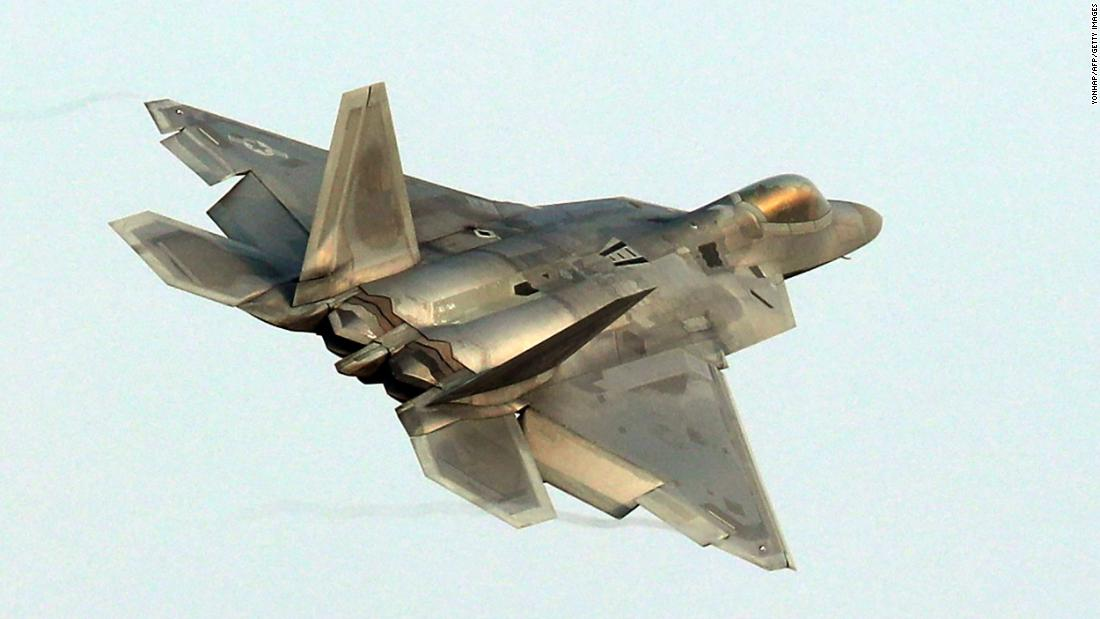 US F-22s intercept Russian jets over Syria