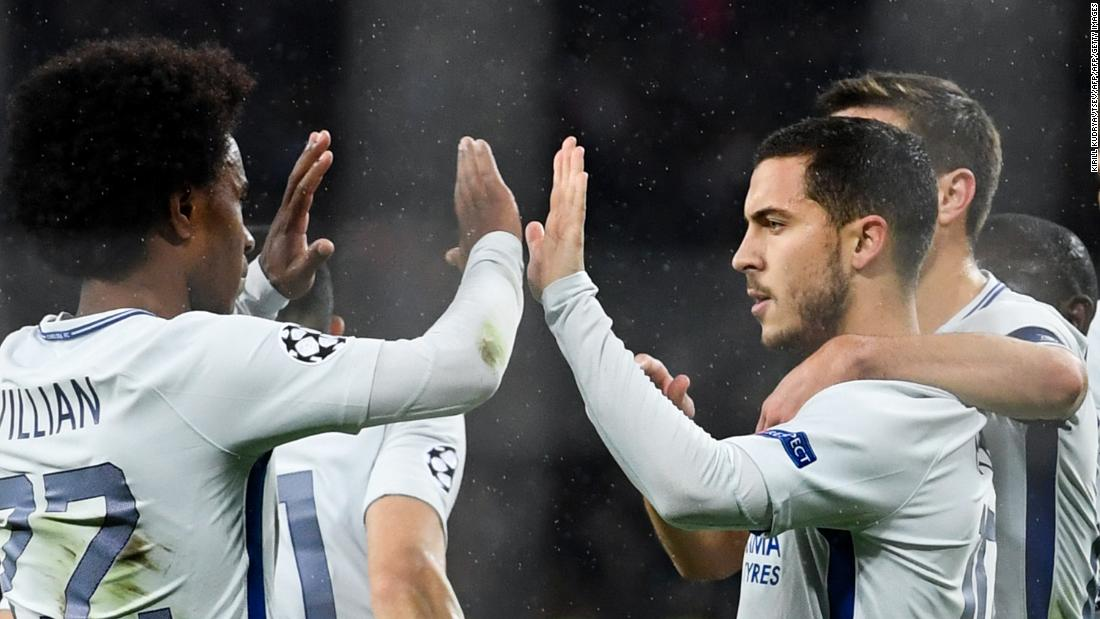 Two performances against Roma aside, Chelsea have impressed so far in the Champions League. They began the group with a thrilling last-gasp win away to Atletico Madrid and, though a largely positive campaign so far, manager Antonio Conte will be concerned by the six goals conceded -- including an emphatic 3-0 defeat -- in the double header against Roma. Dropping down into second on the final day after a draw with Atletico means they now face a tough round of 16 draw.