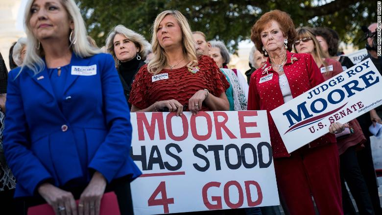 Alabama women divided on Roy Moore