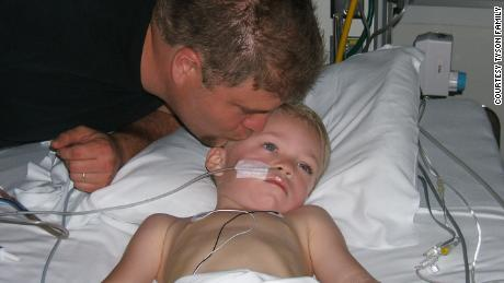 Mason Tyson was 4 years old when he was diagnosed with stage IV Neuroblastoma.