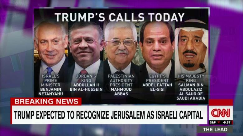What is world impact of Jerusalem decision?