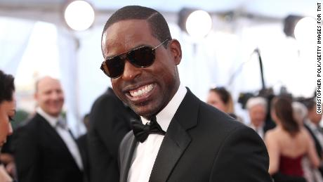LOS ANGELES, CA - JANUARY 29: Actor Sterling K. Brown attends The 23rd Annual Screen Actors Guild Awards at The Shrine Auditorium on January 29, 2017 in Los Angeles, California. 26592_012  (Photo by Christopher Polk/Getty Images for TNT)