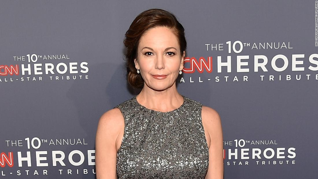 Actor Diane Lane will return to salute the CNN Heroes this year.
