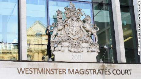 The two men appeared in Westminster Magistrates & # 39; Court on Wednesday.