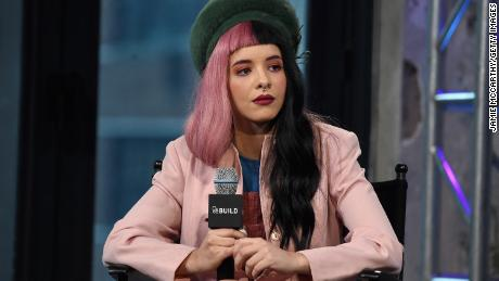 "Melanie Martinez attends AOL Build Speaker Series to discuss  ""Cry Baby"" at AOL Studios In New York on March 25, 2016 in New York City."