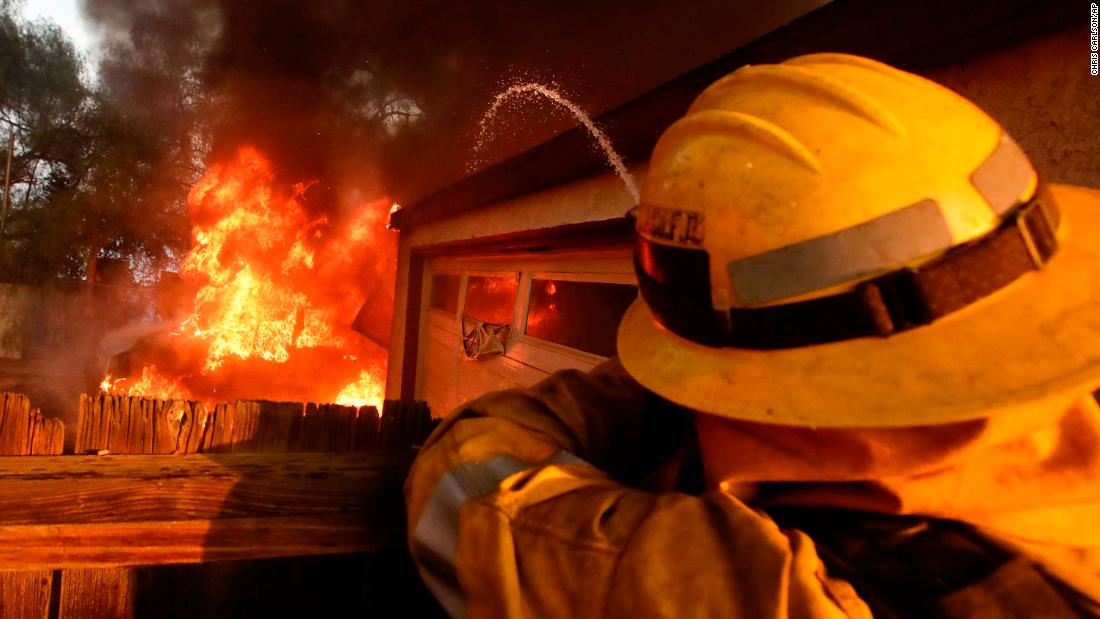 Fire burns 270000 acres in California CNN