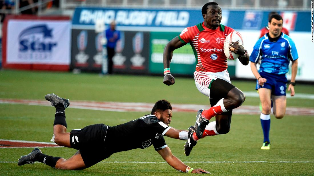 "The sport's former <a href=""http://edition.cnn.com/2016/04/15/sport/collins-injera-kenya-rugby-sevens-olympics/index.html"">all-time record try scorer</a> celebrated scoring his 200th try by signing a nearby camera -- ruining a lens worth a reported £60,000 ($85,000) in the process. An injury sustained during the latest Dubai Sevens means Injera will miss the action in Cape Town."
