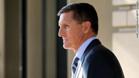 WASHINGTON, DC - DECEMBER 01:  Michael Flynn, former national security advisor to President Donald Trump, leaves following his plea hearing at the Prettyman Federal Courthouse December 1, 2017 in Washington, DC. Special Counsel Robert Mueller charged Flynn with one count of making a false statement to the FBI.  (Chip Somodevilla/Getty Images)