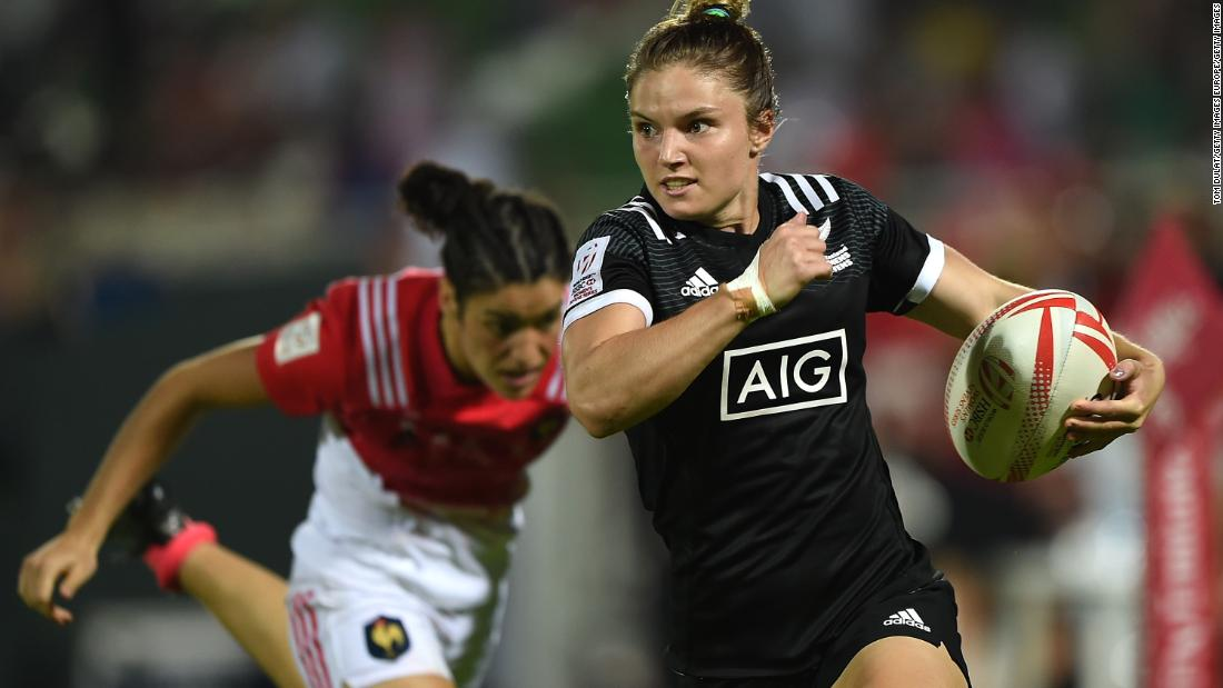 "Top try scorer last campaign -- during which the Kiwis went unbeaten in all but one of the six events -- Blyde was named DHL Impact Player of the Series. The daughter of former Black Ferns player Cherry Blyde might have developed her quick feet in athletics training but she's found her home in rugby sevens. <a href=""http://edition.cnn.com/sport"">Visit CNN.com/sport for more news and features.</a>"