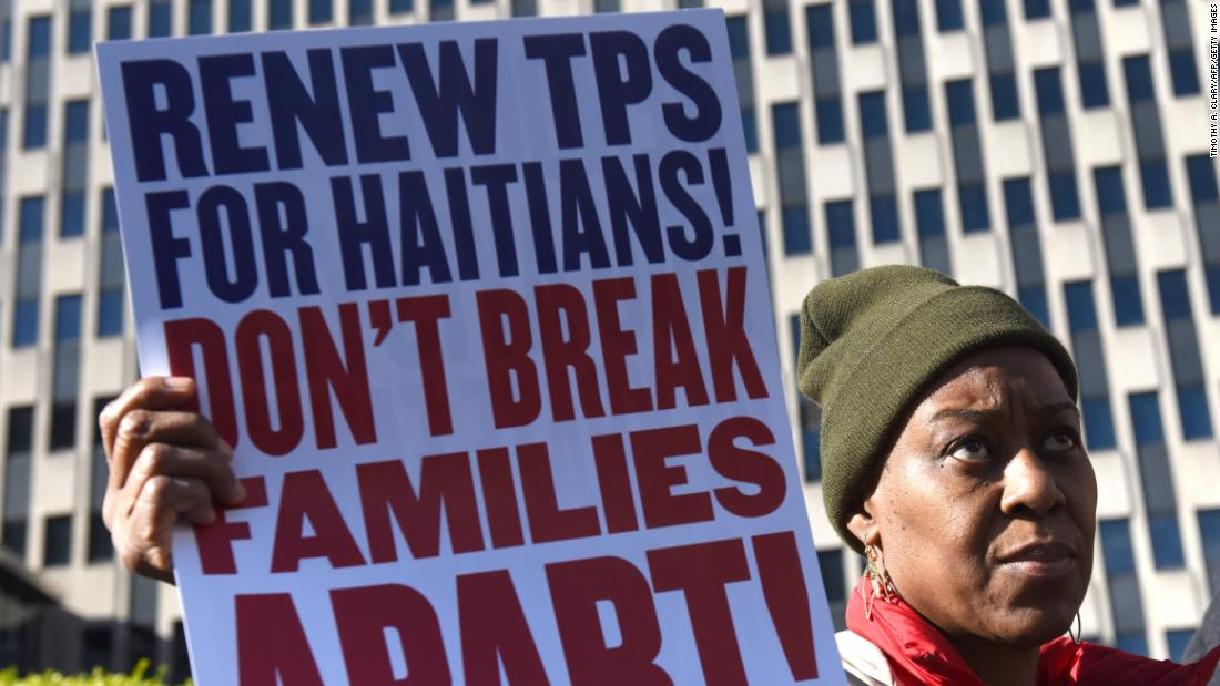 DHS to block Haitians from temporary visas