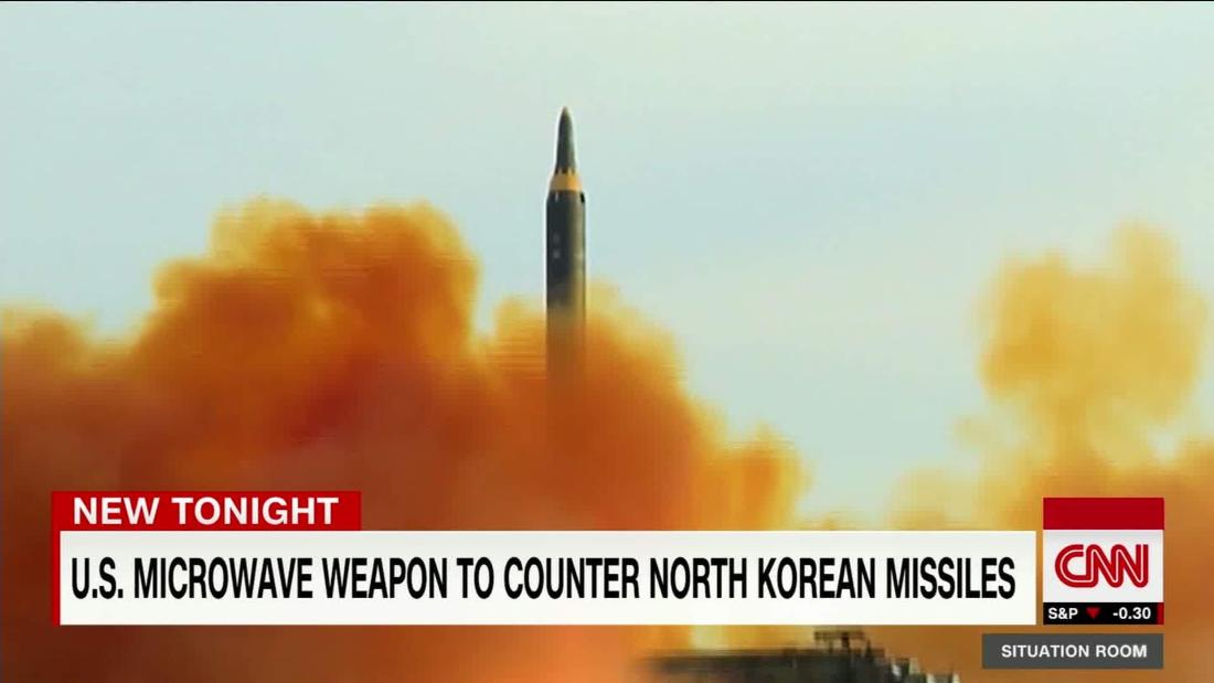 Air Force developing weapon that could disable North Korean missiles