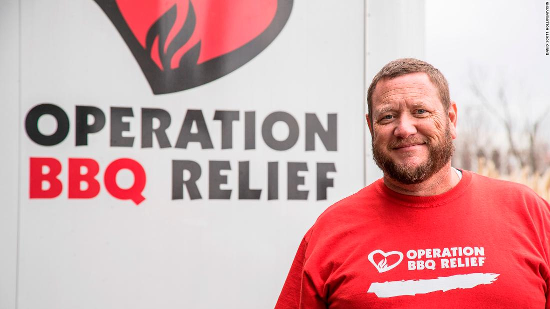 "Top 10 CNN Hero for 2017 Stan Hays, the co-founder of Operation BBQ Relief, works to feed victims and first responders after disasters like Hurricanes Harvey and Irma. Learn more about the efforts of Hays and the rest of the <a href=""http://www.cnn.com/videos/tv/2017/11/01/cnn-heroes-top-10-reveal-orig-mc.cnn"">top 10 CNN Heroes for 2017</a> by clicking through the gallery."