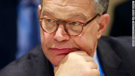 PARIS, FRANCE - DECEMBER 05:   Al Franken and other Senators during the CPO21 Climate conference on December 5, 2015 in Paris, France.  (Photo by Owen Franken/Corbis via Getty Images)