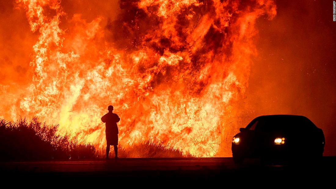 California fires: Two people burned in new blaze - CNN