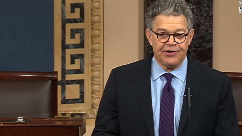 Al Franken's full Senate floor speech