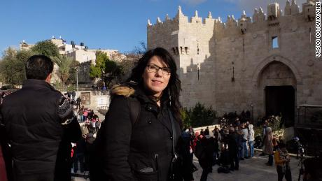 "Nawal Sahtay says that Jerusalem is ""the most special and spiritual place in Palestine"" for Palestinians."