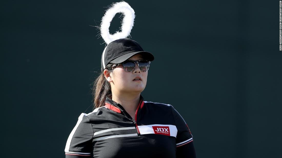 "Yin says women's golf is going to get ""longer and longer"" and aims to be top 20 in the world next year. She is currently ranked No. 55. <br /><a href=""http://edition.cnn.com/sport/golf""><br />Visit CNN.com/golf for more news and features </a>"