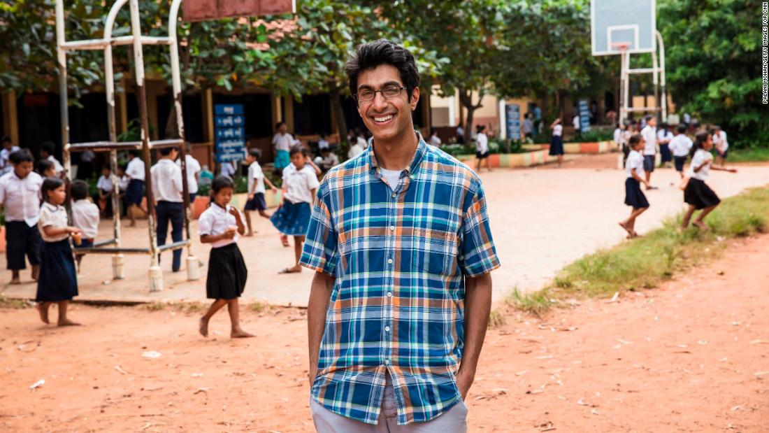 While volunteering in Cambodia in 2014, then-college student Samir Lakhani saw that many rural communities did not have access to soap or hygiene education. Determined to change that, Samir set up hubs around the country to sanitize and recycle soap from local hotels and provide jobs. His organization, Eco-Soap Bank, has donated 186,698 bars of soap in less than three years and helped more than 666,562 people in need.