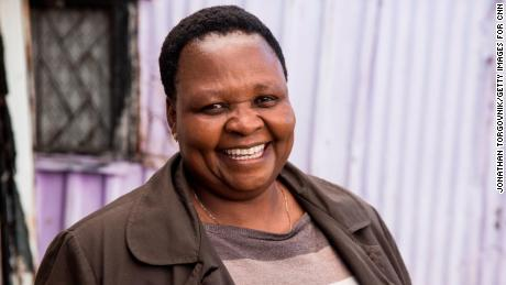 KHAYELITSHA, SOUTH AFRICA: CNN Hero 2017 - Rosie Mashale, Founder and Managing Director of Baphumelele.  CNN Heroes 2017 - Rosie Mashale shoot ID: 27437_004  Photograph by: Jonathan Torgovnik ©