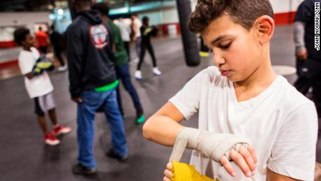 Young boxers think outside the ring