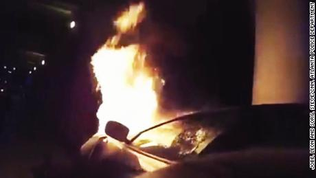 Beyond the Call -------------- Martin Savidge reports on Atlanta police officers who risked their lives to save two people trapped in a fiery wreck on September 20, 2017.