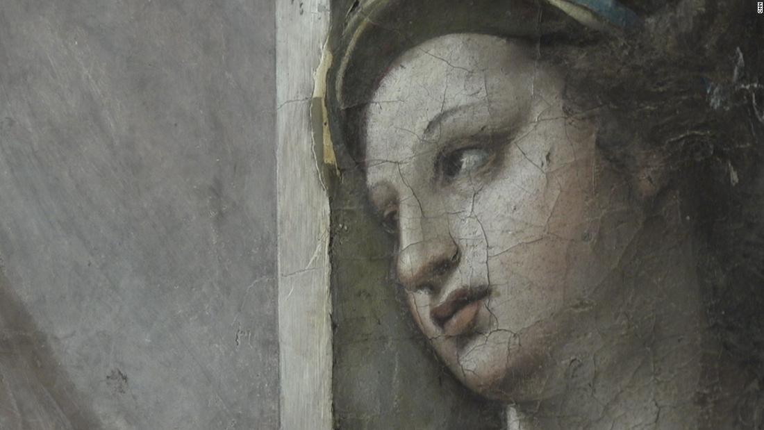 Two Raphael paintings unearthed at the Vatican after 500 years
