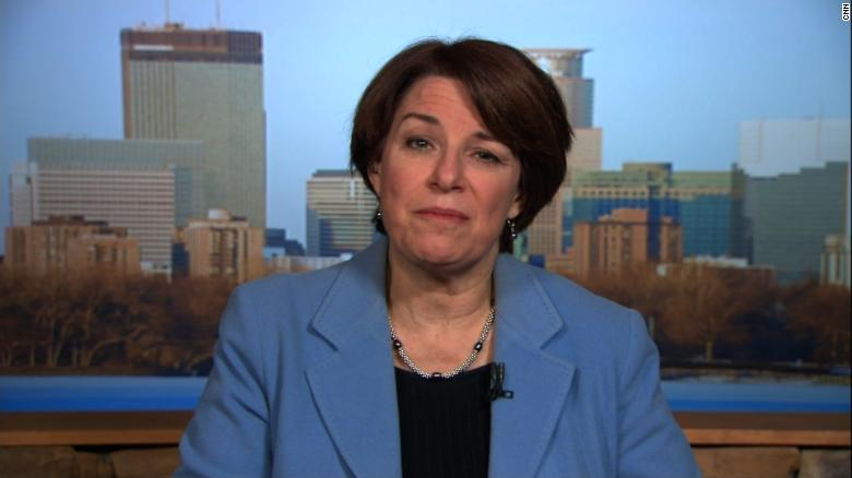 Klobuchar: Franken's resignation was 'the best thing to do at that time'