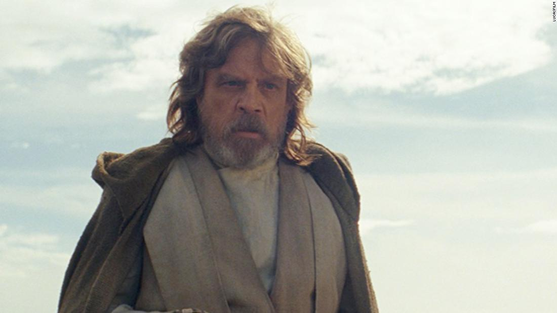 "Mark Hamill returns as Luke Skywalker in ""Star Wars Episode VIII: The Last Jedi."" Dubai hosted the Gulf premiere of the movie as part of an epic global press tour."