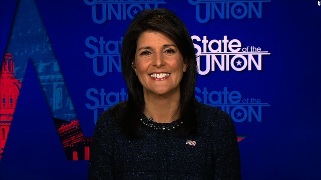 UN Ambassador Haley cites 'will of American people' in defending Jerusalem decision