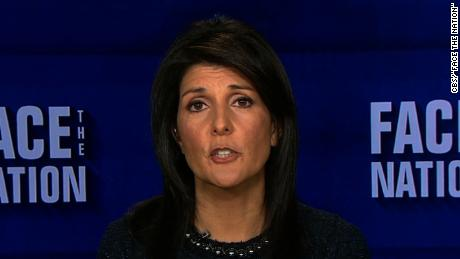 Nikki Haley Face the Nation 12092017