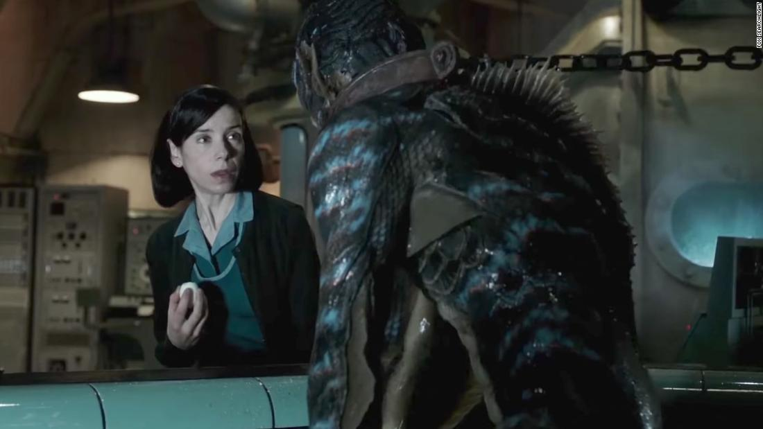 'The Shape of Water' earned seven nominations, including best drama.