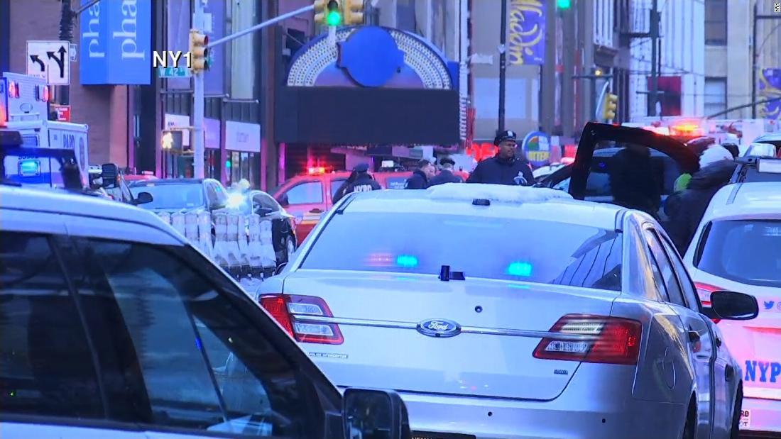 Explosion near Port Authority bus terminal - CNN Video