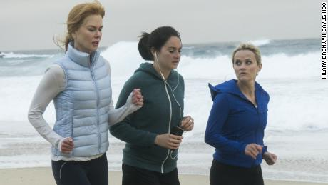Nicole Kidman, Shailene Woodley and Reese Witherspoon in 'Big Little Lies'